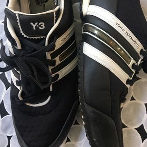 Y-3 adidas women's trainer shoes 10